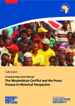 The Mozambican conflict and the peace process in historical perspective