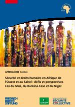 Sécurité et droits humains en Afrique de l'Ouest et au Sahel